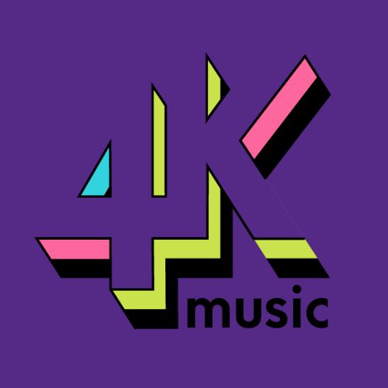 Logo 4k Music